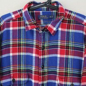 Polo by Ralph Lauren Shirts - Polo Ralph Lauren Plaid Flannel Shirt C484